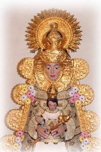 Virgen ROCIO (AGUILAS-rostro)